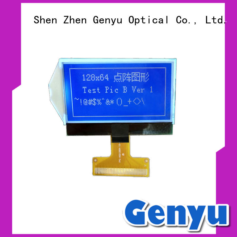 monochromatic lcd display STN Blue COG LCD 12864