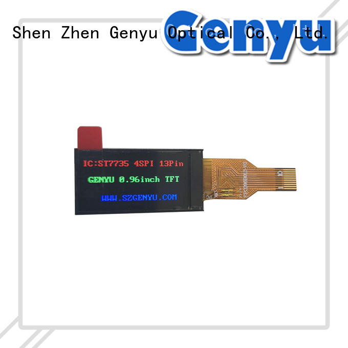 Genyu fast dispatch IPS TFT LCD One-stop service for instruments