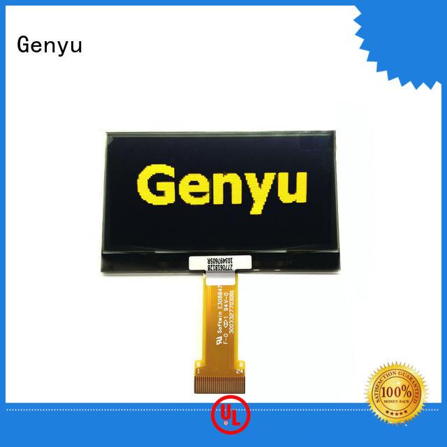 Genyu Latest lcd oled display company for sports watch
