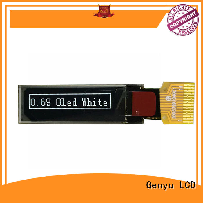 Genyu smart oled screen display suppliers for instruments