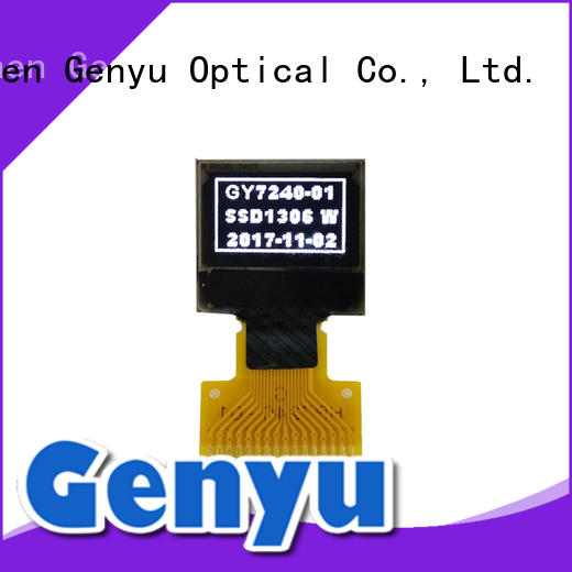 Genyu low oled transparent display factory for sports watch