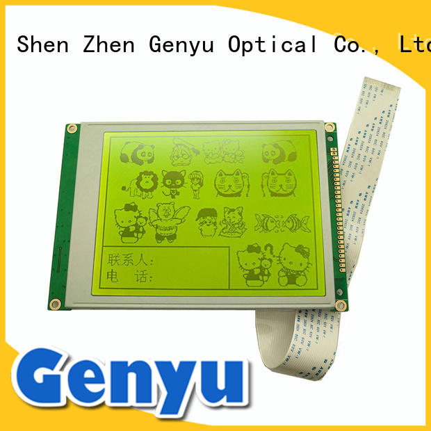 Genyu OEM ODM lcd display factory mono for instruments panels