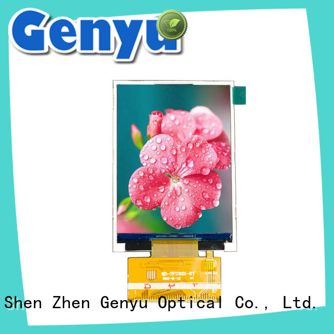 Genyu quality-reliable tft display module manufacturers for automobile