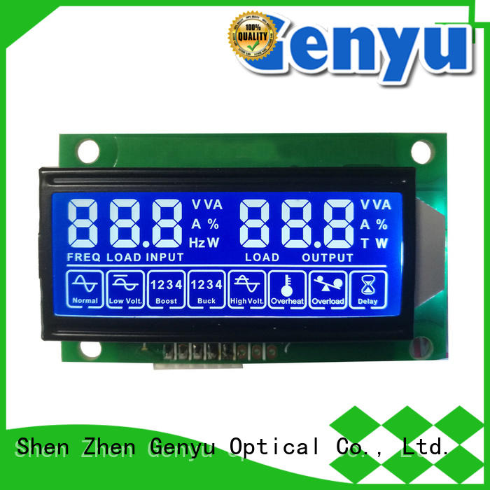 Genyu segment 7-segment lcd display manufacturers for electricity