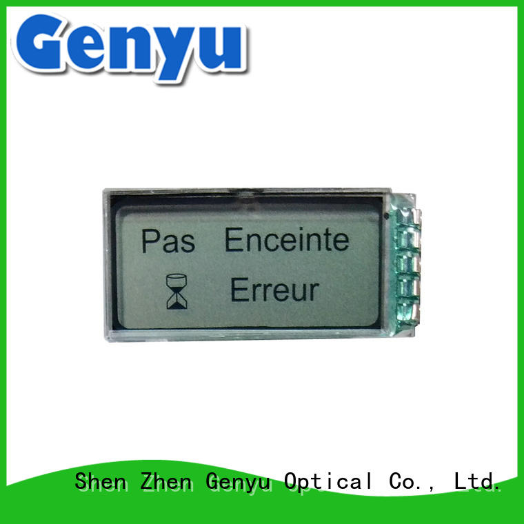 monochrome segment lcd display module segment for meter Genyu