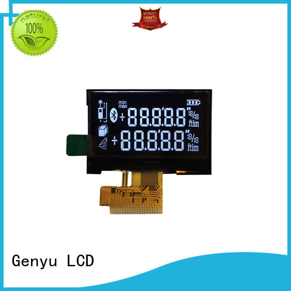 Top segment lcd display quality for meter