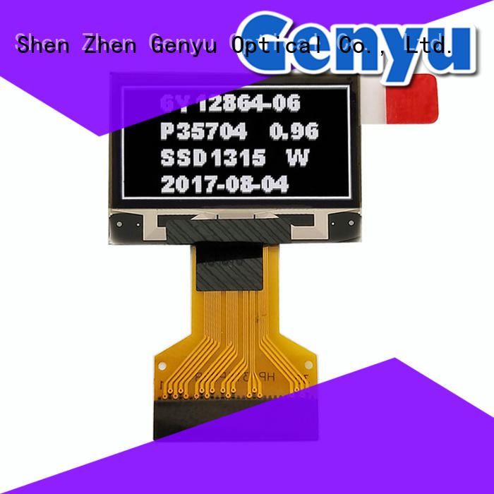 shenzhen pantalla oled blue for hardware wallet Genyu