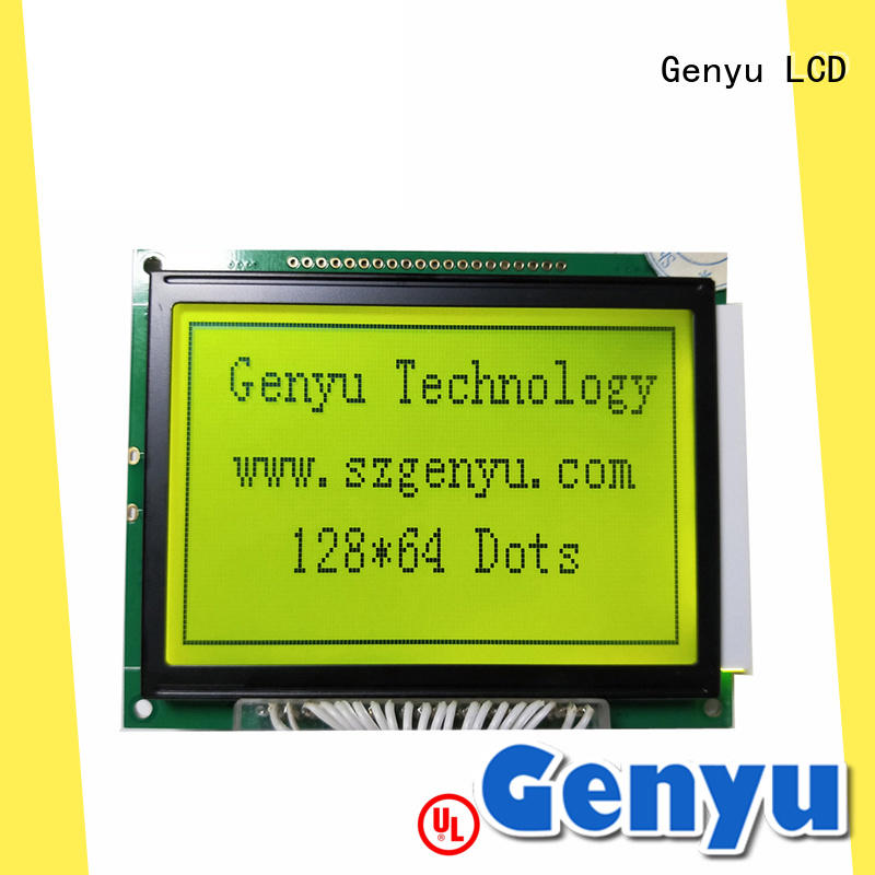 Genyu 128x64 lcm display for business for instruments panels