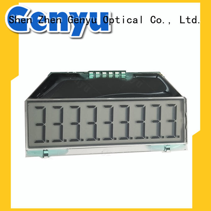 Custom 7 segment LCD Display For Electricity Meter