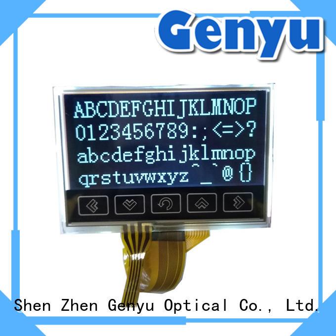 matrix Monochrome 128x64 Graphic Dot Matrix LCD Screen 12864 for industry Genyu