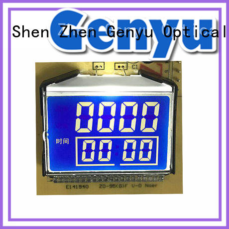gy8812880 custom lcd screen exporter for meter Genyu