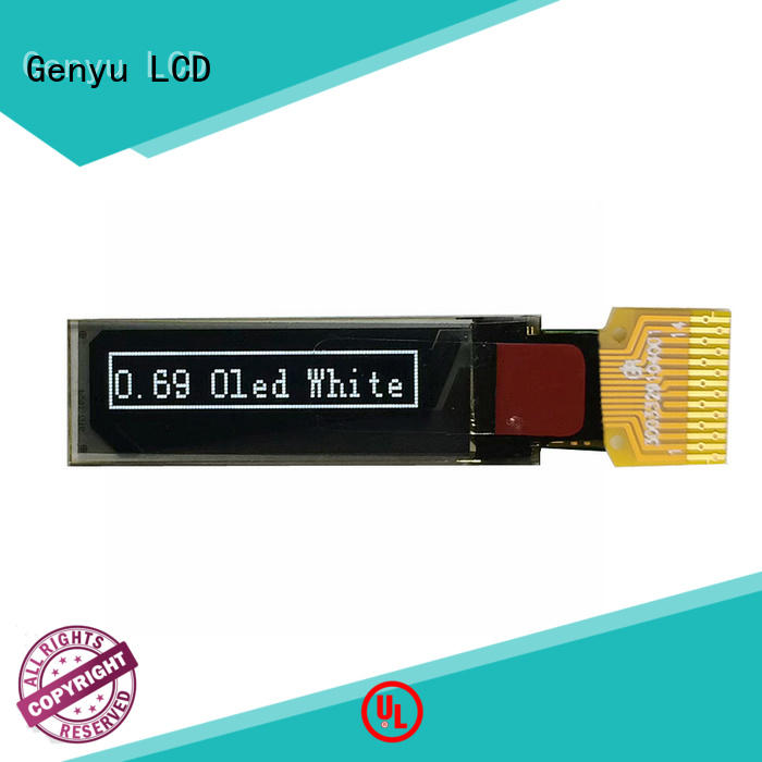 Genyu graphic oled lcd module supply for smart watch