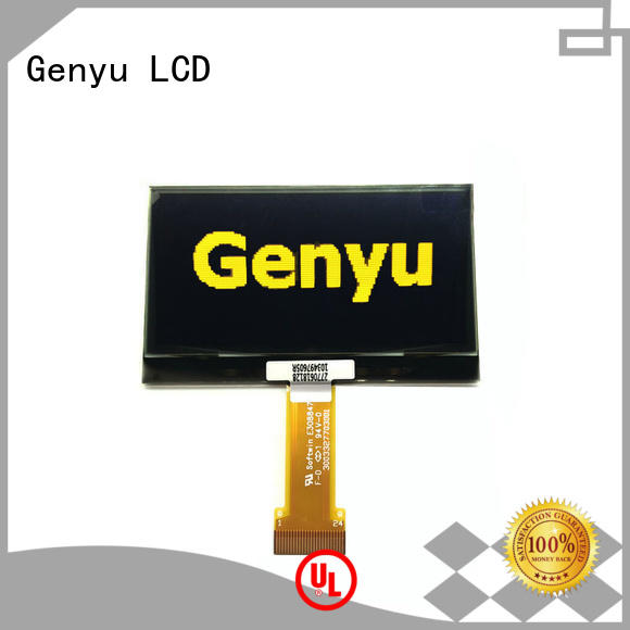 Genyu mono oled display module suppliers for hardware wallet