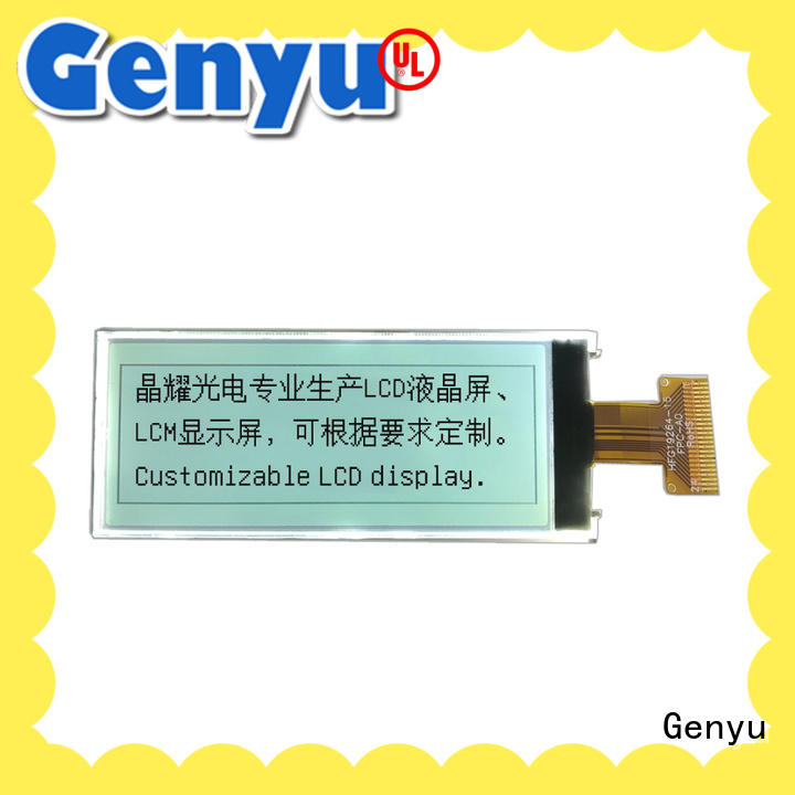 Genyu High-quality graphic lcd screen for business for industry