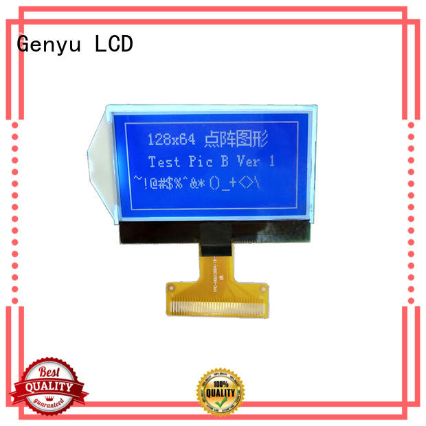 Genyu New dot matrix lcd factory for industry