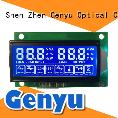 Genyu quality 7-segment lcd module fast delivery for fax machines