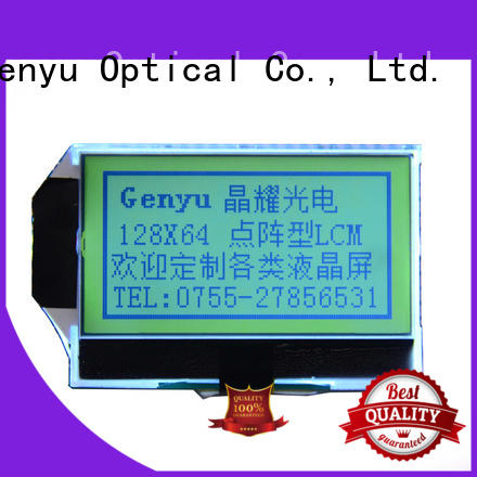 Genyu New 12864 lcd display module factory for industry