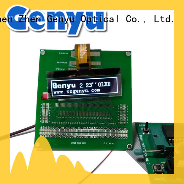 Genyu OEM ODM oled lcd factory for instruments