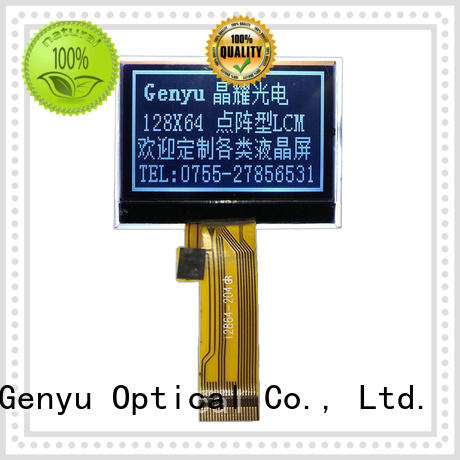 Genyu stn 12832 lcd display for business for smart home