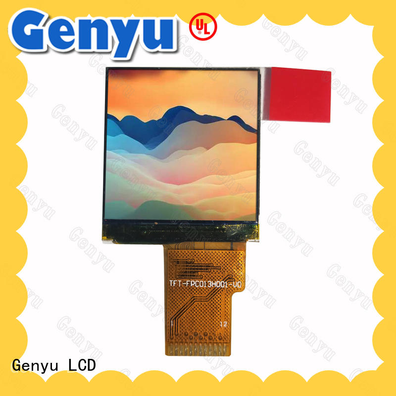 Genyu quality-reliable tft lcd display for devices