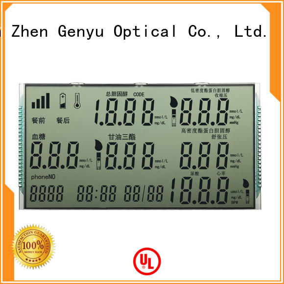 Latest lcd display custom laser factory for home appliances
