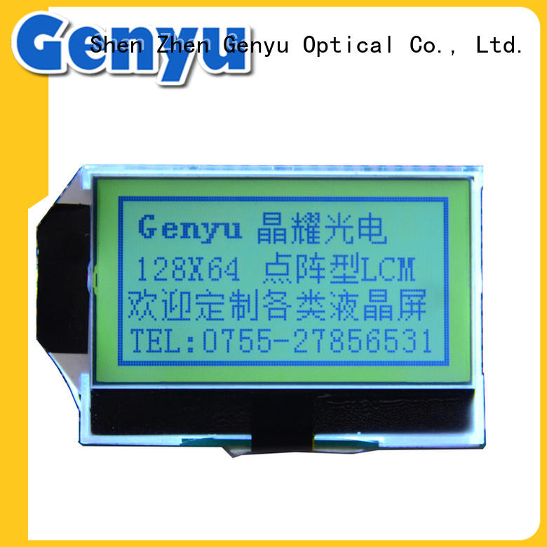 Genyu large production of dot matrix lcd factory for equipment