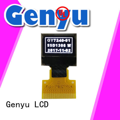 Genyu yellow oled lcd panel manufacturers for sports watch