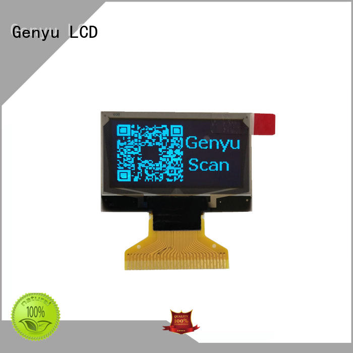Genyu size oled display modules manufacturers for hardware wallet