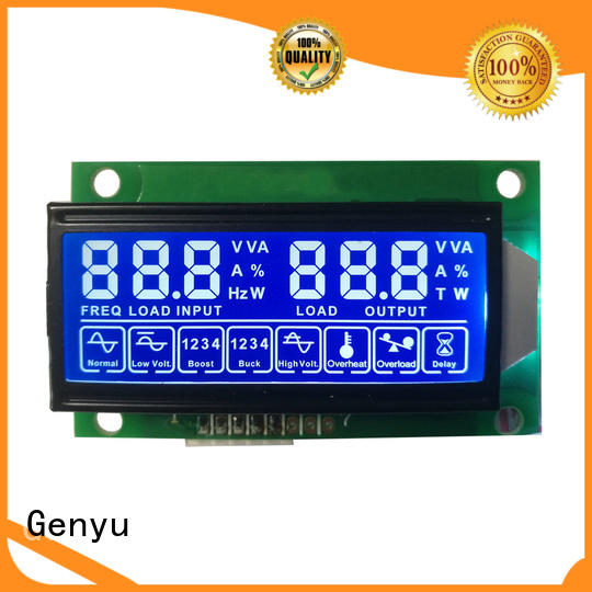 Genyu lcm segment lcm suppliers for meters