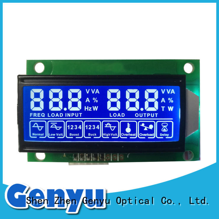 lcm segment lcd module factory gy50378a for medical Genyu