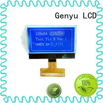 Custom 12864 lcd display module matrix company for industry