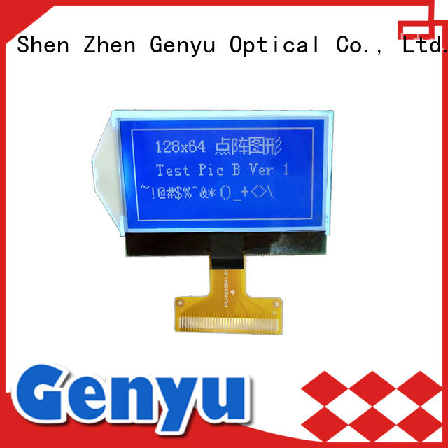 Genyu fast shipping 128*64 cog lcd screen 240x80 for industry