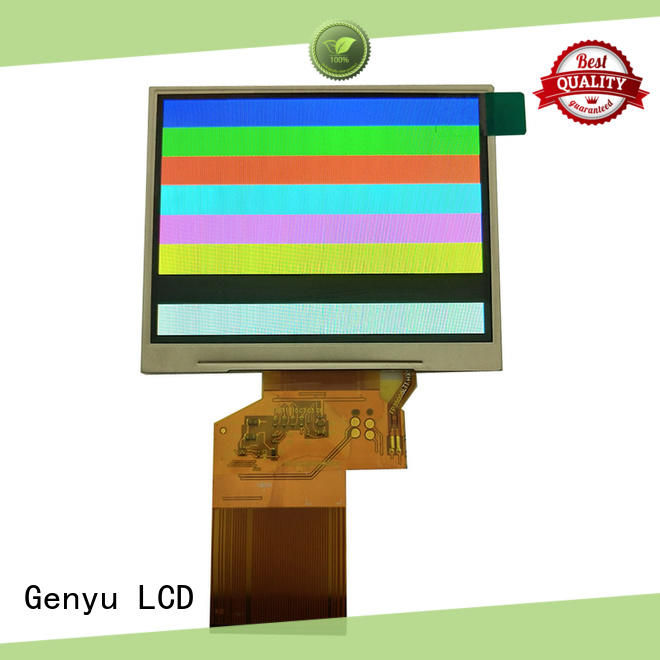 Genyu new tft panel manufacturers for equipments