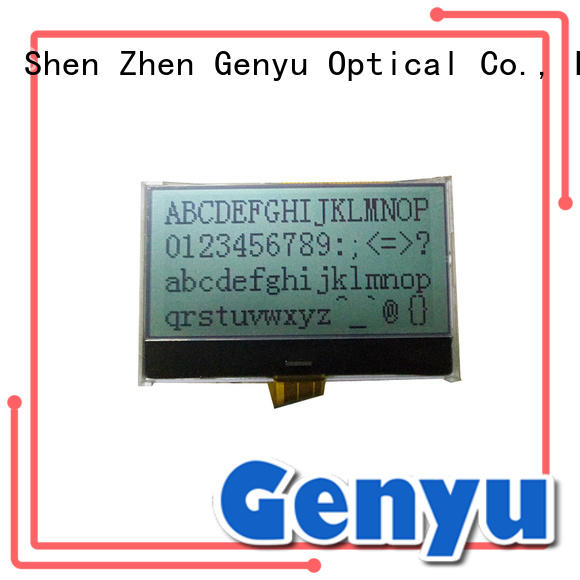 Genyu graphic lcd display manufacturer for equipment