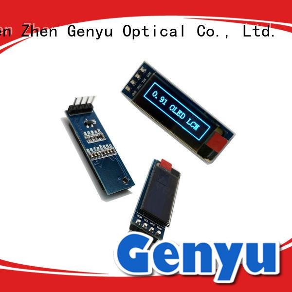 thin pantalla oled white for instruments Genyu