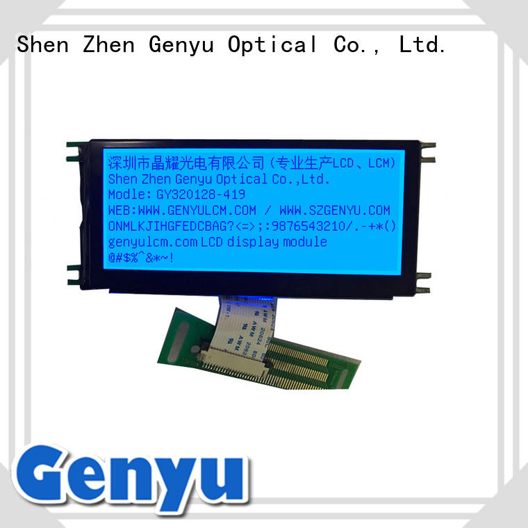 128x32 lcd graphic display modules 128x64 for electronic products Genyu