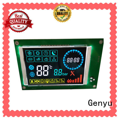 Genyu electricity custom size lcd suppliers for instrumentation