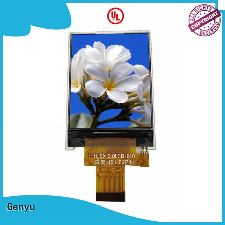 Genyu Best tft panel suppliers for equipments