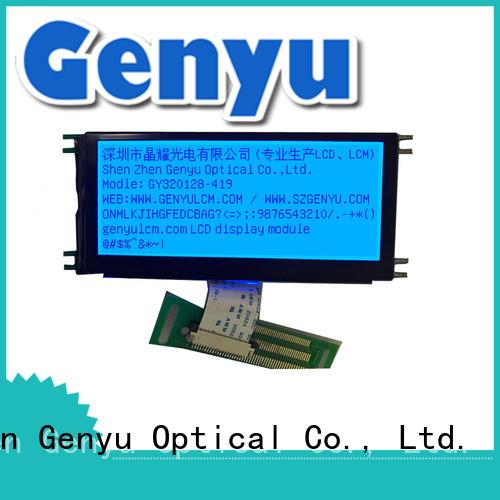 320x128 Dot Matrix COB LCD Blue Background Graphic LCD Module