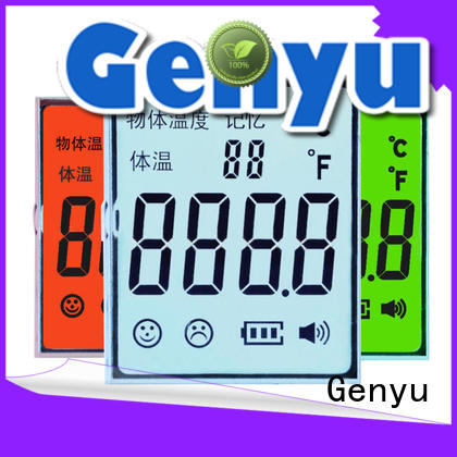 Genyu quality custom lcd screen supply for video