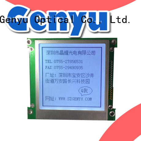 Genyu dots lcd lcd display bulk purchase for smart home
