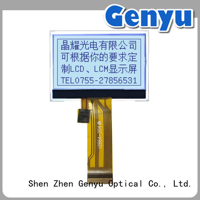 Genyu small graphic lcd screen exporter for industry
