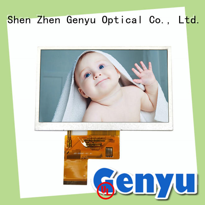 Genyu Best tft lcd display module supply for automobile