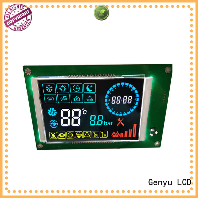 Latest graphic lcd display led factory for smart home