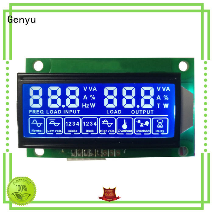 Genyu gy03656 7-segment lcd module manufacturers for instruments