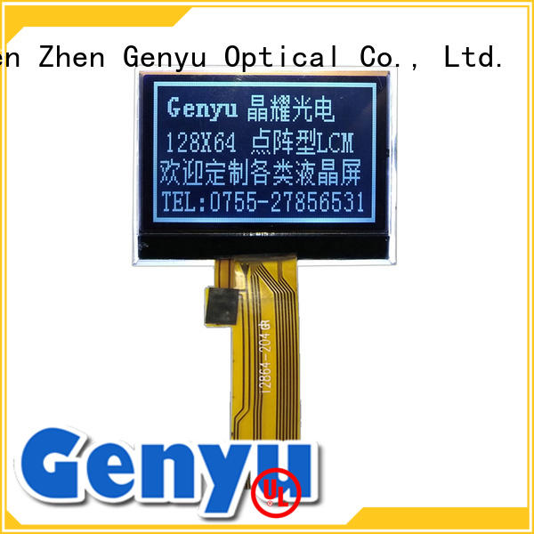 Genyu inch 12832 lcd display manufacturers for industry