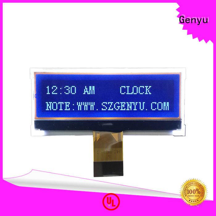 Genyu Top dot matrix lcd supply for smart home