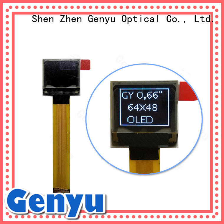 low oled display business for medical equipment Genyu