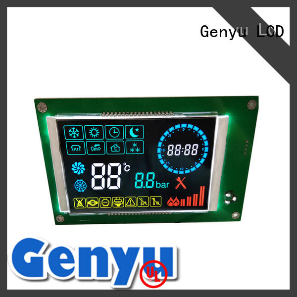 Genyu Best segment lcd screen suppliers for machines