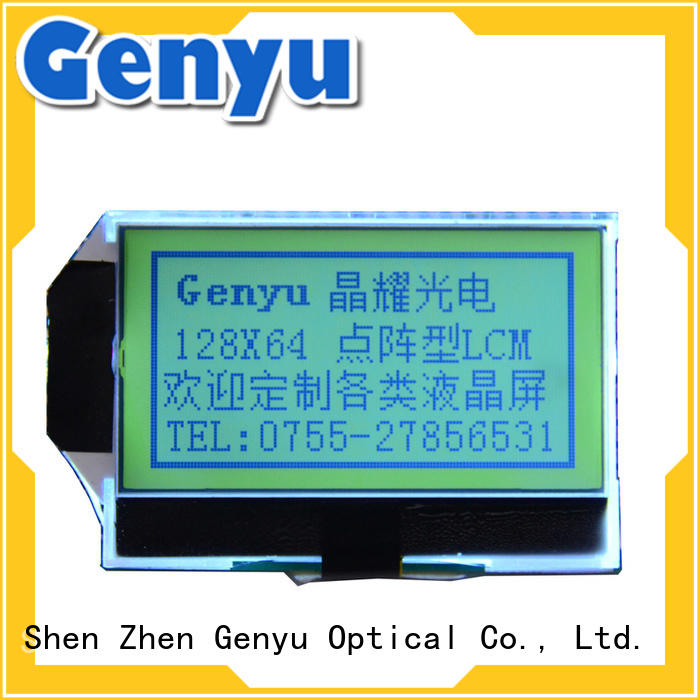 12864 lcd display module graphic for smart home Genyu